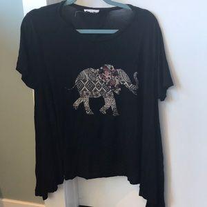 South moon under Rossmore elephant shirt
